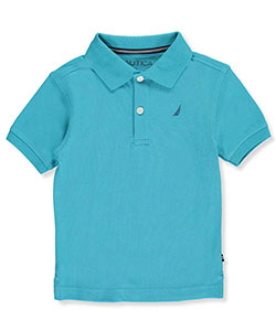 Nautica Little Boys' Pique Polo (Sizes 4 – 7X) - CookiesKids.com