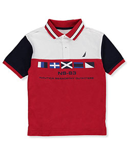 Nautica Big Boys' Polo (Sizes 8 – 20) - CookiesKids.com
