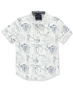 Nautica Boys' S/S Button-Down - CookiesKids.com