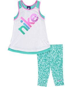Nike Little Girls' 2-Piece Outfit (Sizes 4 – 6X) - CookiesKids.com