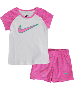 Nike Little Girls' Toddler 2-Piece Outfit (Sizes 2T – 4T) - CookiesKids.com