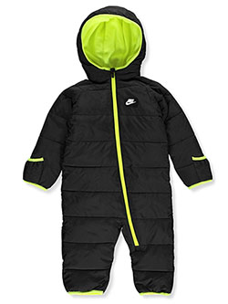 Baby Boys' Fleece Lined Snowsuit by