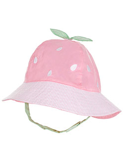 "Little Me Baby Girls' ""Striped Melon"" Bucket Hat - CookiesKids.com"