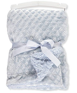 Petit Monde Diamond Plush Blanket - CookiesKids.com