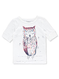 "OshKosh Little Girls' ""Owl Feathers"" Top (Sizes 4 – 6X) - CookiesKids.com"