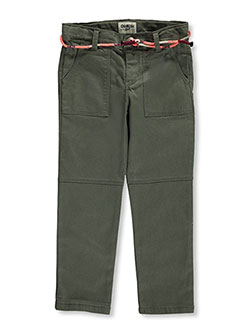 "OshKosh Little Girls' ""Hip Trip"" Belted Skinny Pants (Sizes 4 – 6X) - CookiesKids.com"