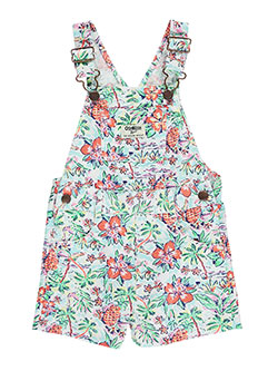 "OshKosh Baby Girls' ""Pineapple Tropics"" Shortalls - CookiesKids.com"