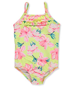 OshKosh Girls' 1-Piece Swimsuit - CookiesKids.com