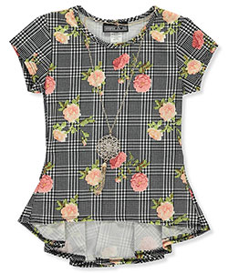 George A Ltd Girls' Top with Necklace - CookiesKids.com