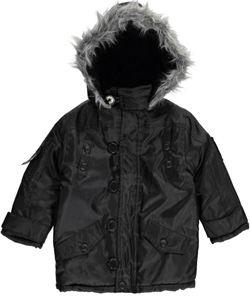 "Pelle Pelle Little Boys' Toddler ""Snow Shock"" Insulated Jacket (Sizes 2T – 4T) - CookiesKids.com"