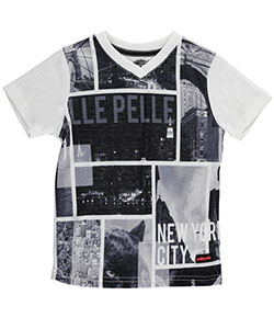 "Pelle Pelle Little Boys' Toddler ""Feline Views"" T-Shirt (Sizes 2T – 4T) - CookiesKids.com"