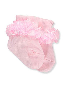 "Piccolo Baby Girls' ""Frothy Ruffle"" Socks - CookiesKids.com"