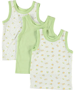 "Big Oshi ""My Toys"" 3-Pack Tank Tops (Sizes 0M – 24M) - CookiesKids.com"