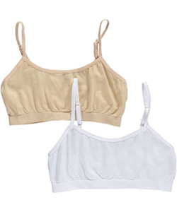 Sweet Princess Little Girls' 2-Pack Sports Bras - CookiesKids.com