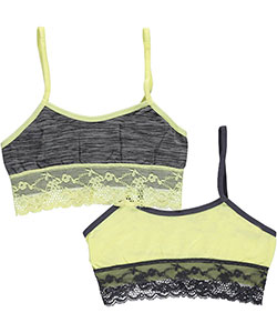 "Sweet Princess Big Girls' ""Lace Look"" 2-Pack Seamless Bras (Sizes 7 – 16) - CookiesKids.com"