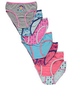 "Sweet Princess Little Girls' ""Paisley Girl"" 7-Pack Panties (Sizes 4 – 6X) - CookiesKids.com"