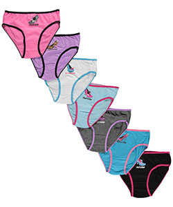 "Sweet Princess Big Girls' ""Shoe Selection"" 7-Pack Panties (Sizes 7 – 16) - CookiesKids.com"