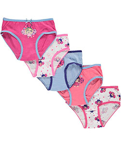 "Sweet Princess Little Girls' Toddler ""Ladybug Fairy"" 5-Pack Panties (Sizes 2T – 4T) - CookiesKids.com"