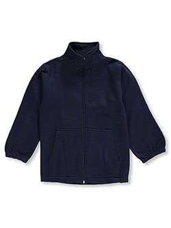 Premium Authentic Schoolwear Little Boys' Zip-Up Sweatshirt (Sizes 4 – 7) - CookiesKids.com