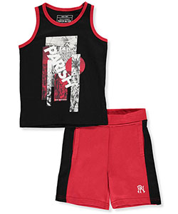 "Parish Nation Little Boys' ""Quality Guaranteed"" 2-Piece Outfit (Sizes 4 – 7) - CookiesKids.com"