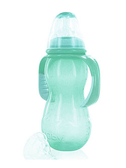 Nuby Non-Drip Standard Neck Bottle (11 oz.) - CookiesKids.com