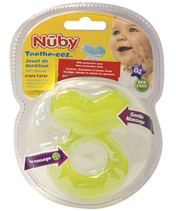 Nuby Teethe-eez Teether - CookiesKids.com