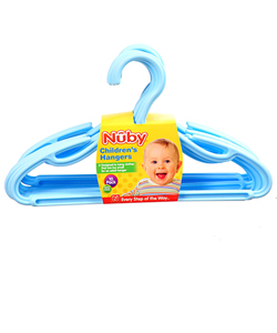 Nuby 10-Pack Children's Hangers - CookiesKids.com