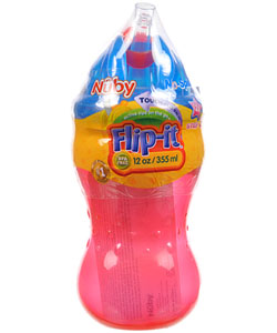 Nuby Flip-It Sipper (12 oz.) - CookiesKids.com