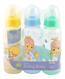 "Precious Moments ""Angel Boys"" 3-Pack Bottles (8 oz.) - CookiesKids.com"