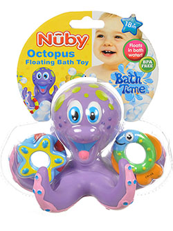 Nuby Octopus Floating Bath Toy - CookiesKids.com