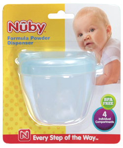 Nuby Formula Powder Dispenser - CookiesKids.com