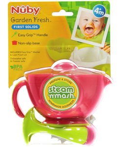 Nuby Garden Fresh Steam n' Mash - CookiesKids.com