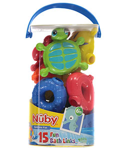 Nuby Bath Links 15-Pack - CookiesKids.com