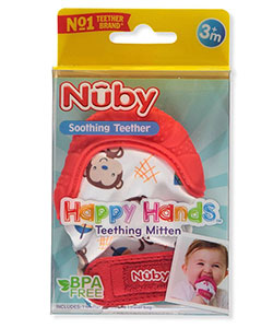 Nuby Happy Hands Teething Mittens - CookiesKids.com