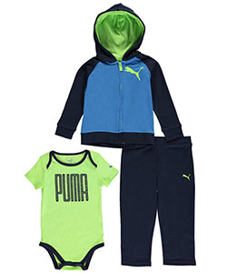 "Puma Baby Boys' ""Tall Text"" 3-Piece Outfit - CookiesKids.com"