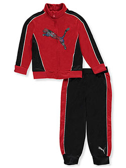 Puma Little Boys' Toddler 2-Piece Tracksuit (Sizes 2T – 4T) - CookiesKids.com