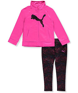 Puma Little Girls' Toddler 2-Piece Outfit (Sizes 2T – 4T) - CookiesKids.com