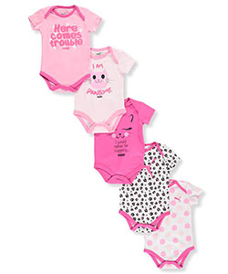 Puma Baby Girls' 5-Pack Bodysuits - CookiesKids.com