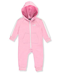 Puma Baby Girls' Fleece Coverall - CookiesKids.com