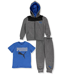 Puma Little Boys' Toddler 3-Piece Outfit (Sizes 2T – 4T) - CookiesKids.com
