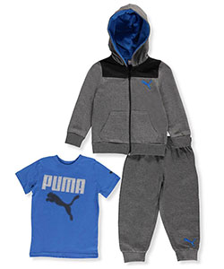 Puma Little Boys' 3-Piece Outfit (Sizes 4 – 7) - CookiesKids.com
