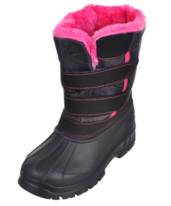 "P&W New York Girls' ""Highlight"" Boots (Youth Sizes 13 – 4) - CookiesKids.com"