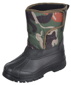 "P&W New York Boys' ""Snow Hunt"" Boots (Youth Sizes 13 – 4) - CookiesKids.com"