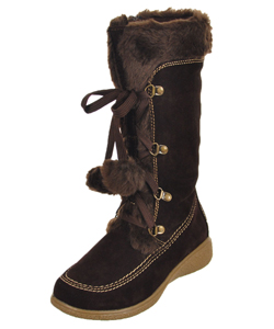 "Rachel Girls ""Mila"" Boots (Youth Sizes 13 – 5) - CookiesKids.com"