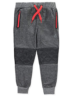 Reebok Little Boys' Fleece Joggers (Sizes 4 – 7) - CookiesKids.com