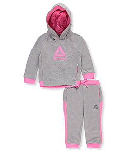 Reebok Baby Girls' 2-Piece Fleece Sweatsuit - CookiesKids.com