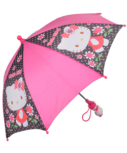 "Hello Kitty ""Dotty Rain"" Umbrella - CookiesKids.com"