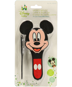 "Mickey Mouse ""Famous Mouse"" Brush & Comb Set - CookiesKids.com"
