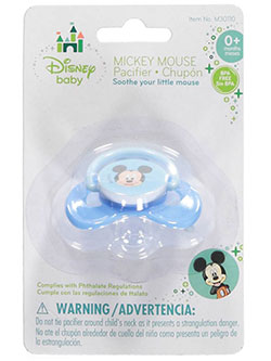 "Disney ""Baby Mickey"" Pacifier - CookiesKids.com"