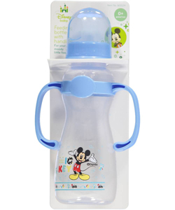 "Disney ""Having a Blast with Mickey"" Feeding Bottle with Handles (8 oz.) - CookiesKids.com"